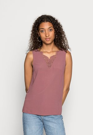VMESTHER  LACE - Top - rose brown