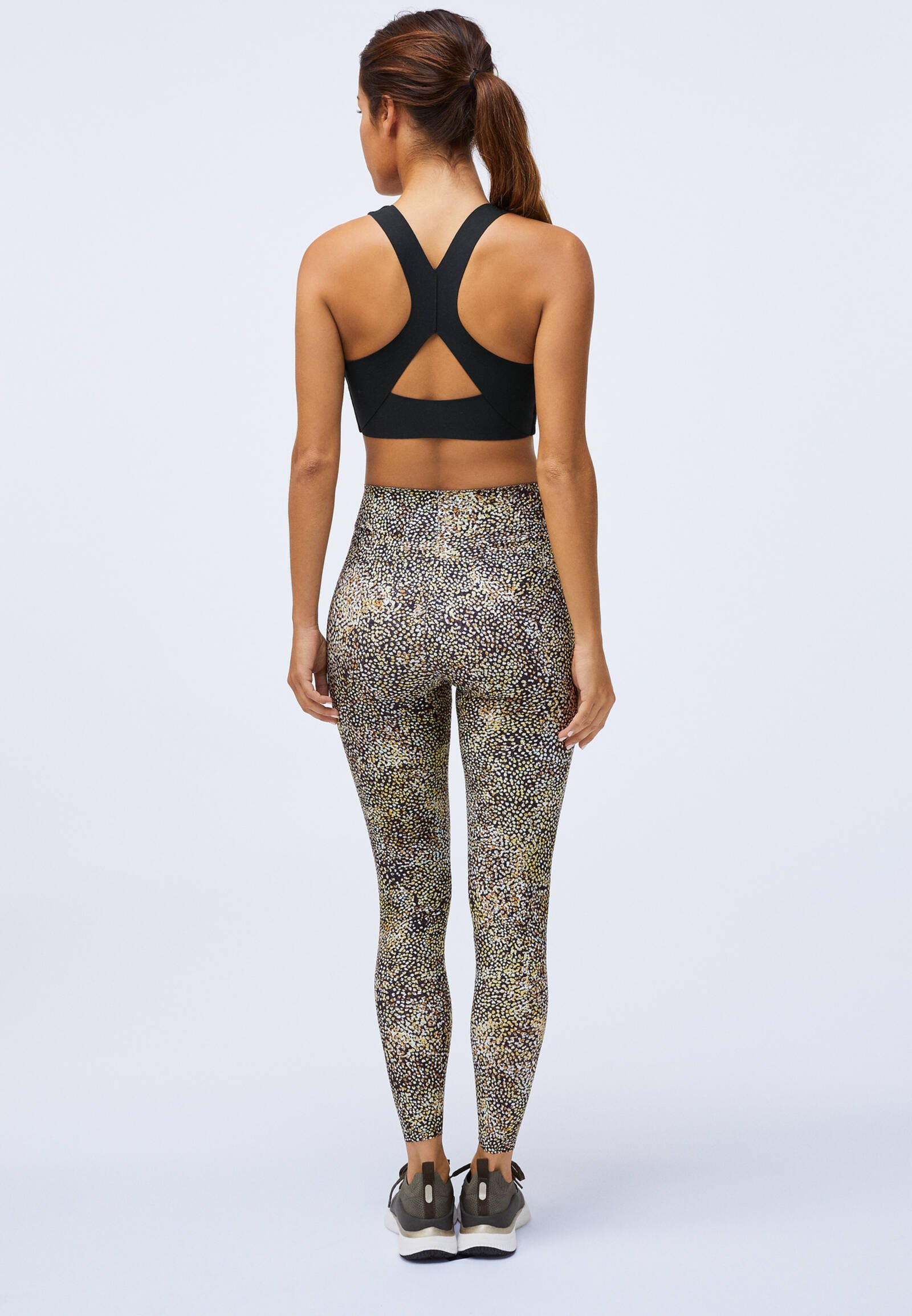 OYSHO Leggings - black DFsZF