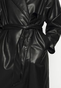 Monki - KYLIE COAT - Kappa / rock - black - 5
