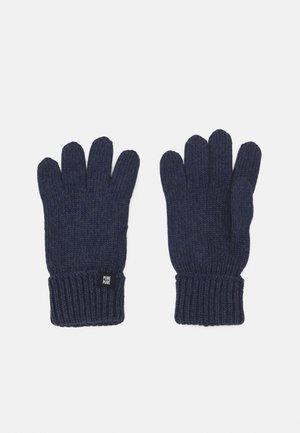 GLOVES UNISEX - Gloves - marine
