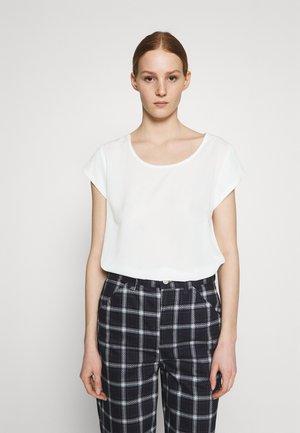 ONLNOVA LUX SOLID - Basic T-shirt - cloud dancer