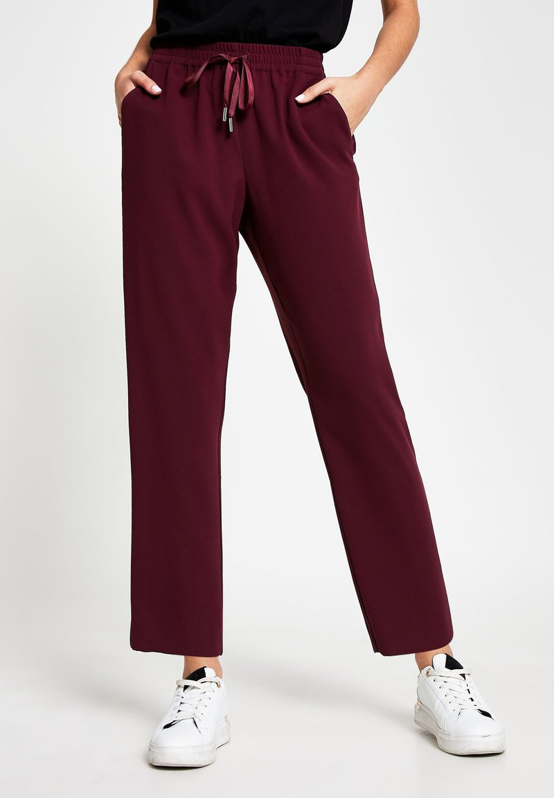River Island - Tracksuit bottoms - red