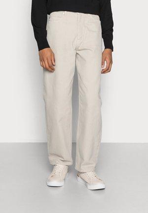 ZEM - Jeans straight leg - beige