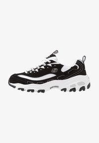 Skechers Wide Fit - WIDE FIT D'LITES - Trainers - black - 1