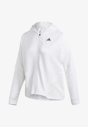 AEROREADY KNIT JACKET (PLUS SIZE) - Training jacket - white