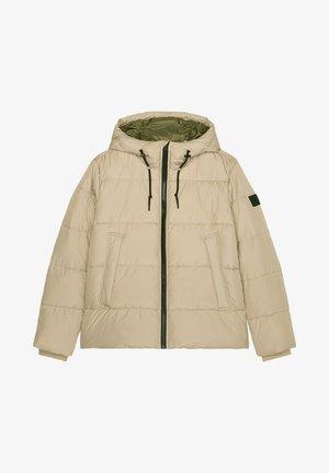 Winter jacket - beige dawn