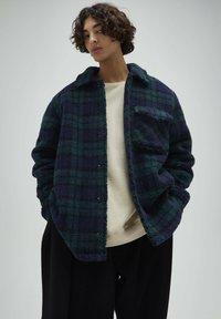 PULL&BEAR - Fleece jacket - dark blue - 0