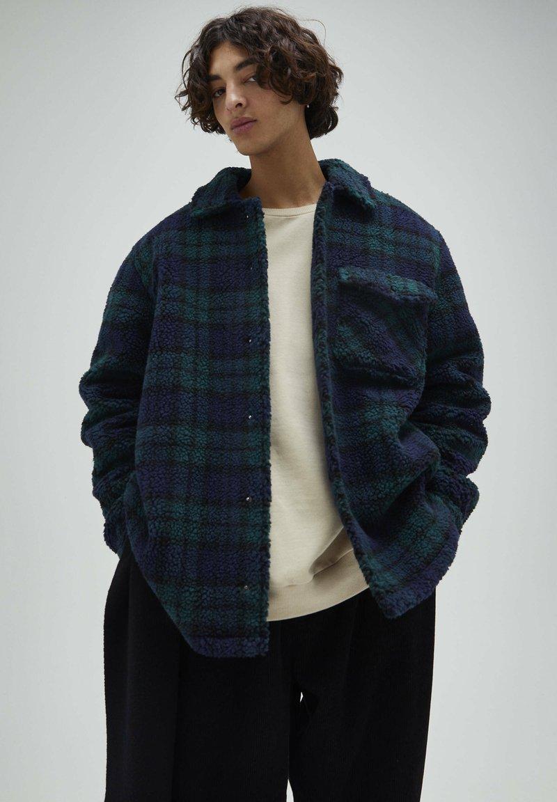 PULL&BEAR - Fleece jacket - dark blue