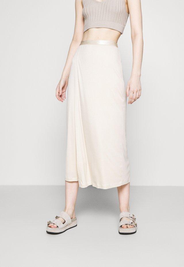 VIOLA SKIRT - Áčková sukně - soft beige
