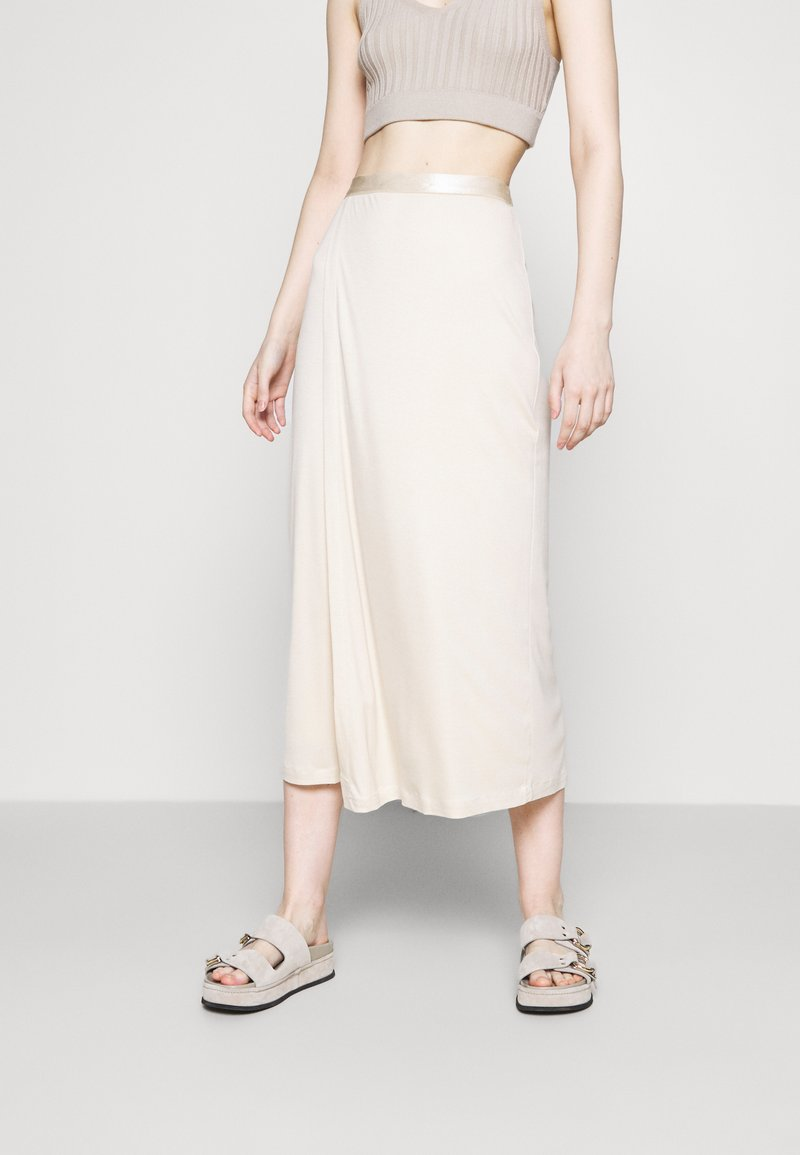 Filippa K - VIOLA SKIRT - A-line skirt - soft beige