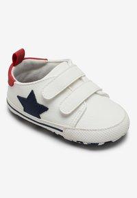 Next - STAR PRAM - Touch-strap shoes - white - 1