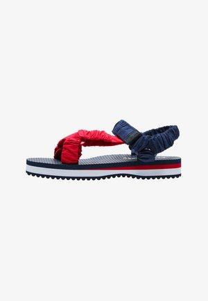 Sandals - azul marino