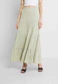 ONLY - ONLMAY LIFE SKIRT - Maxi skirt - desert sage - 0