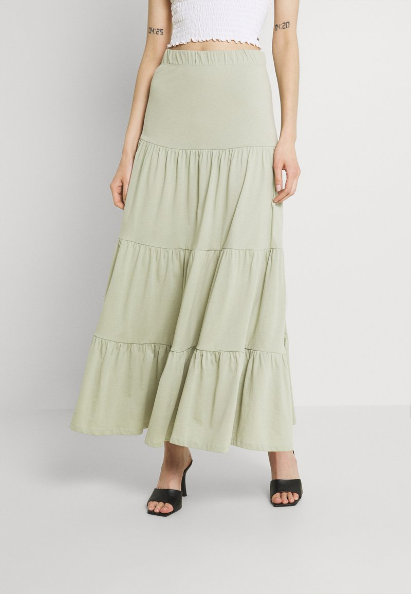 ONLY - ONLMAY LIFE SKIRT - Maxi skirt - desert sage