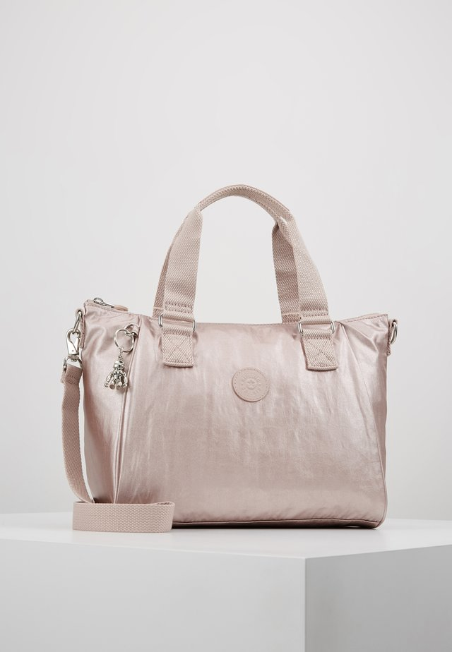 AMIEL - Handbag - metallic rose