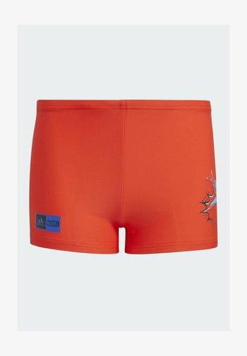 MARVEL SUPERHERO SWIM BRIEFS - Swimming shorts - red