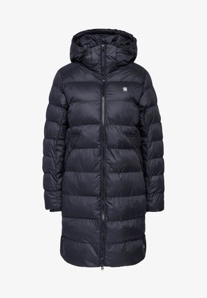 WHISTLER HOODED SLIM LONG - Winter coat - mazarine blue