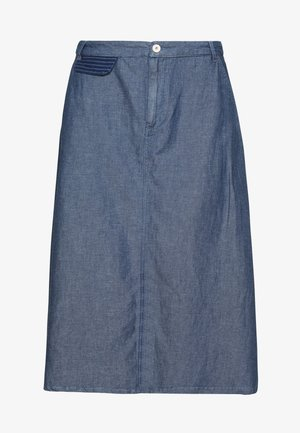 SKIRT - A-line skjørt - blue