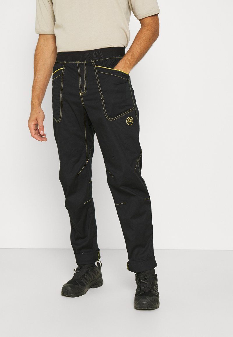 La Sportiva - ROOTS PANT  - Kalhoty - black