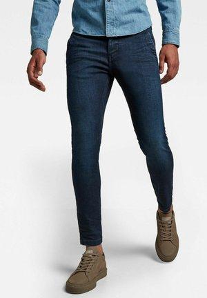 SKINNY CHINO - Jeans slim fit - dark bkue denim