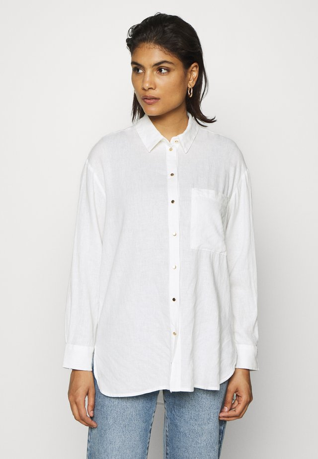 Overhemdblouse - antique white