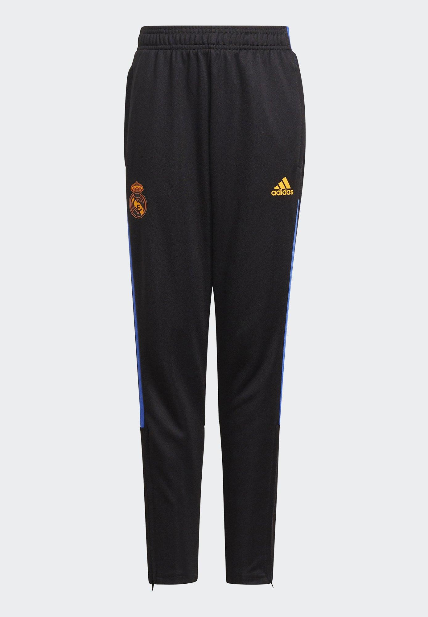 Kids REAL Y FOOTBALL MADRID AEROREADY PRIMEGREEN PANTS - Tracksuit bottoms