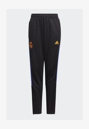 REAL Y FOOTBALL MADRID AEROREADY PRIMEGREEN PANTS - Træningsbukser - black