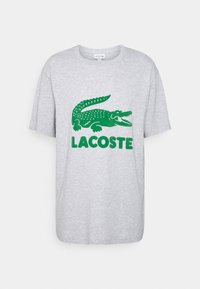 Lacoste - T-shirt print - silver chine - 3