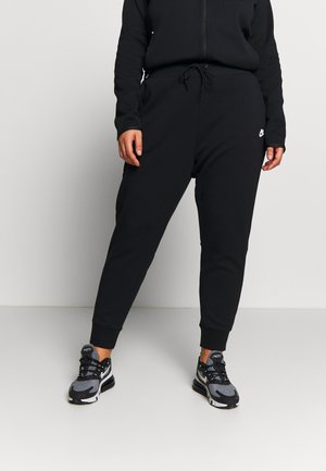 Tracksuit bottoms - black/black/white