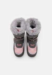 Lurchi - KATINKA SYMPATEX - Winter boots - grey/dark pink - 3