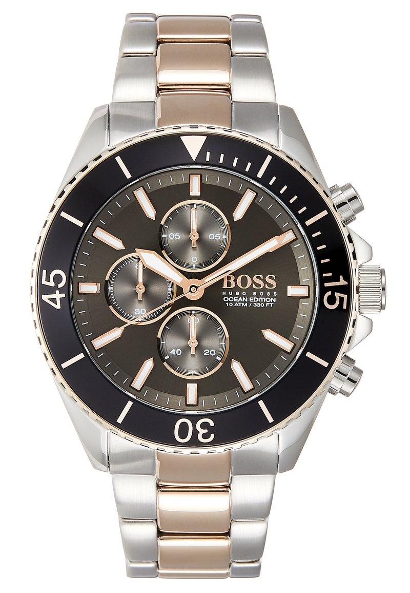 BOSS - OCEAN EDITION - Chronograaf - black/roségold-coloured