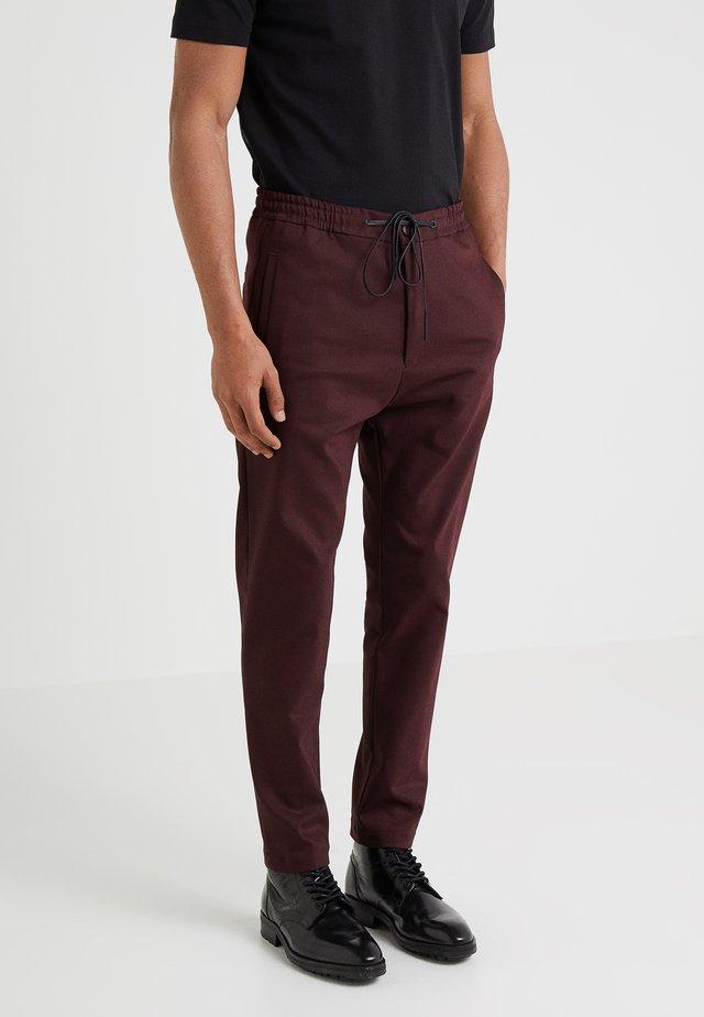 JEGER - Trousers - bordeaux