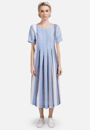Day dress - weiss hellblau
