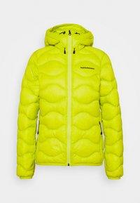 Peak Performance - HELIUM HOOD JACKET - Down jacket - nordic flash - 4