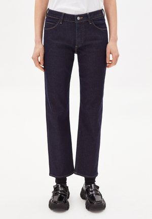Straight leg jeans - raw denim