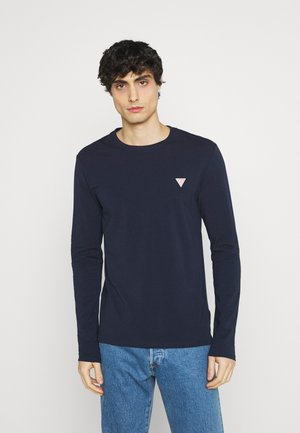 CORE TEE - Langærmede T-shirts - blue navy