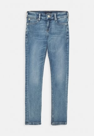 THE TACK - Džíny Straight Fit - blue denim