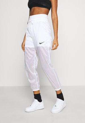 INDIO PANT - Verryttelyhousut - white/black