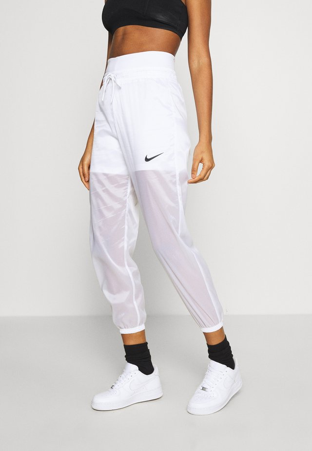 INDIO PANT - Pantalon de survêtement - white/black