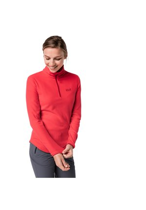 ECHO - Fleece jumper - tulip red