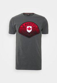 Alessandro Zavetti - CANADA BOTTICINI  - Print T-shirt - grey - 3
