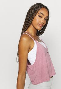 Puma - STUDIO STRAPPY TANK - Funktionsshirt - foxglove heather - 3