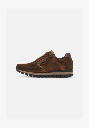 Sneakers laag - whisky/moro