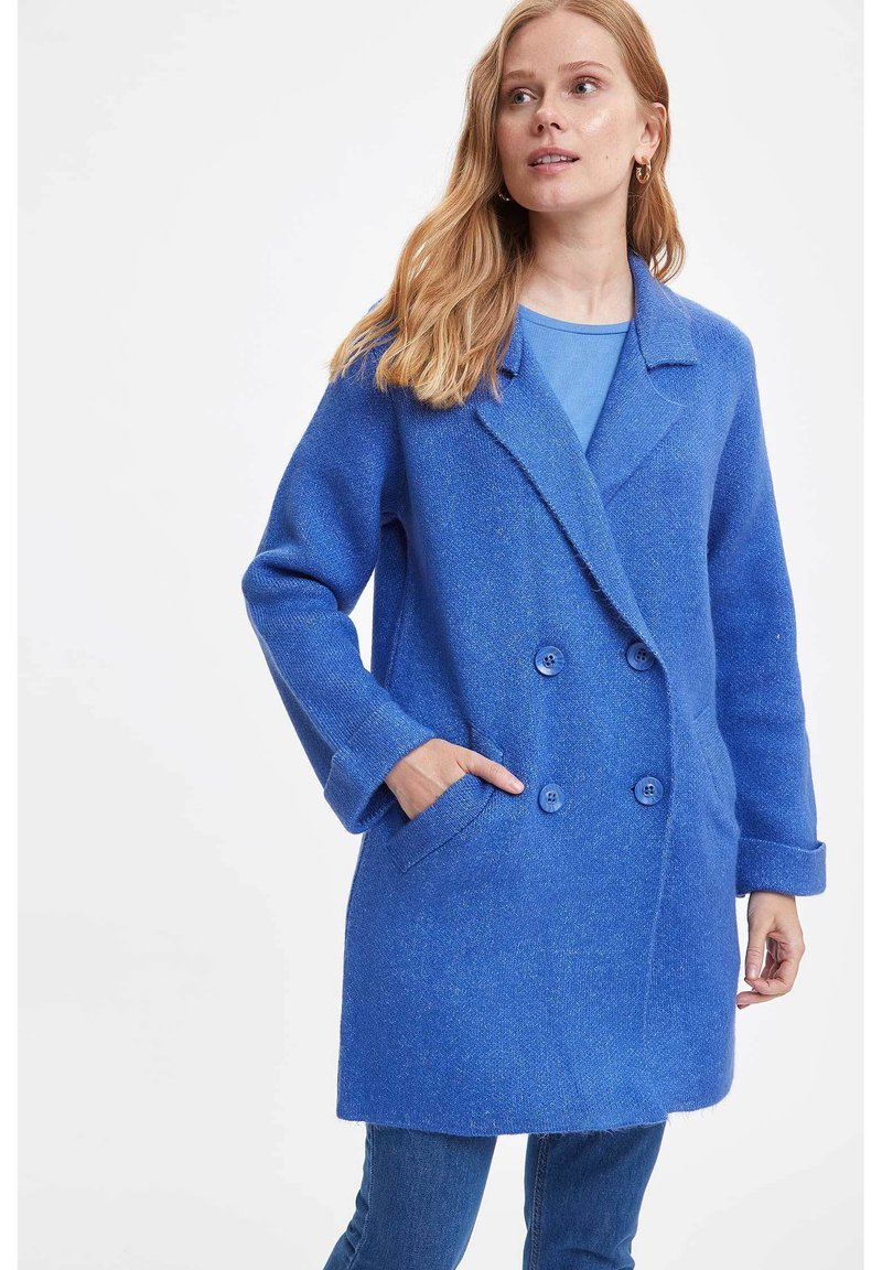 DeFacto - Short coat - blue