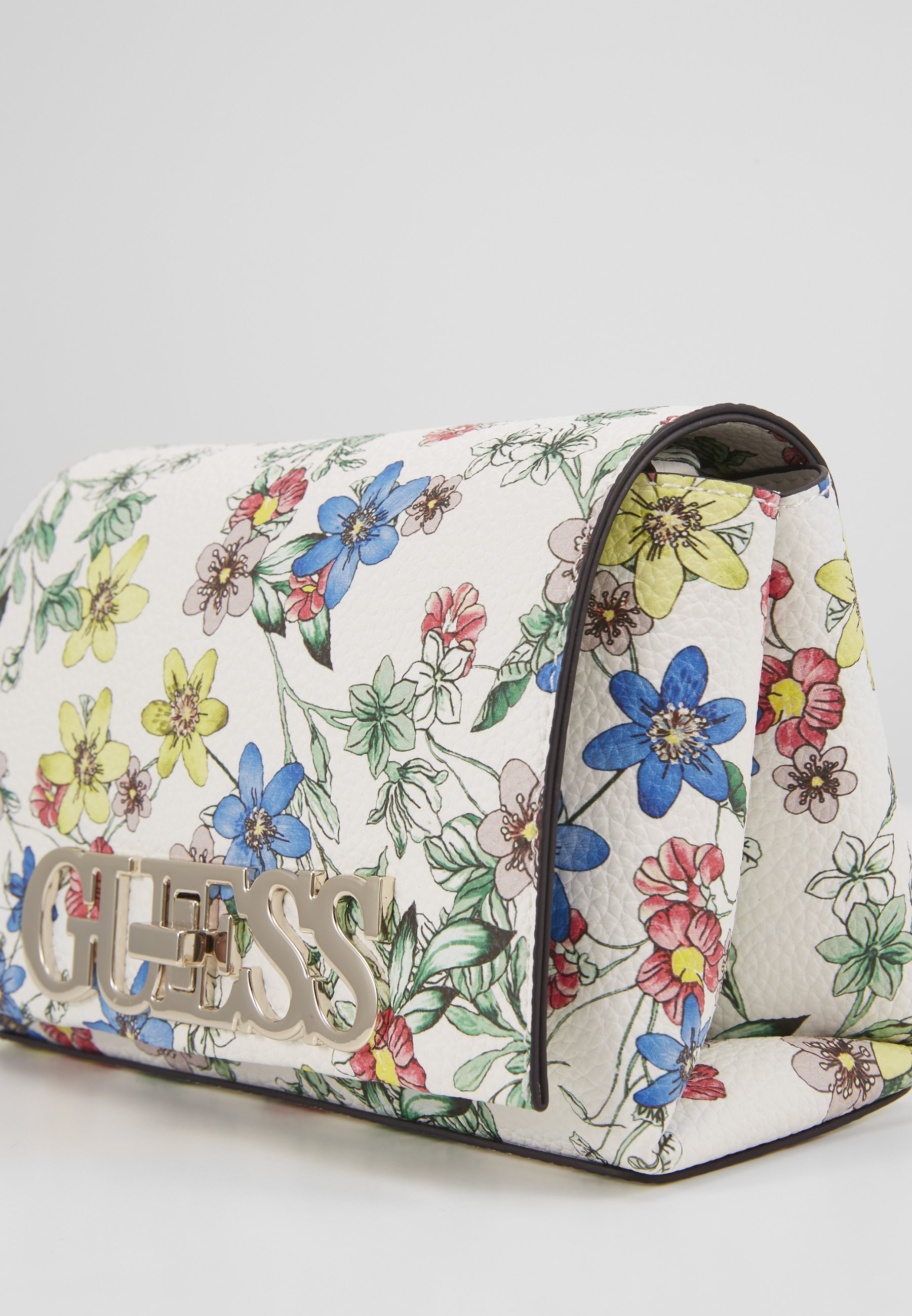 Get Outlet Guess UPTOWN CHIC MINI XBODY FLAP - Across body bag - floral | women's accessories 2020 0XC3r
