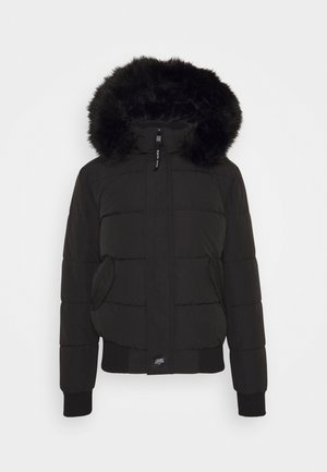 IRRIDESCENT - Winter jacket - black