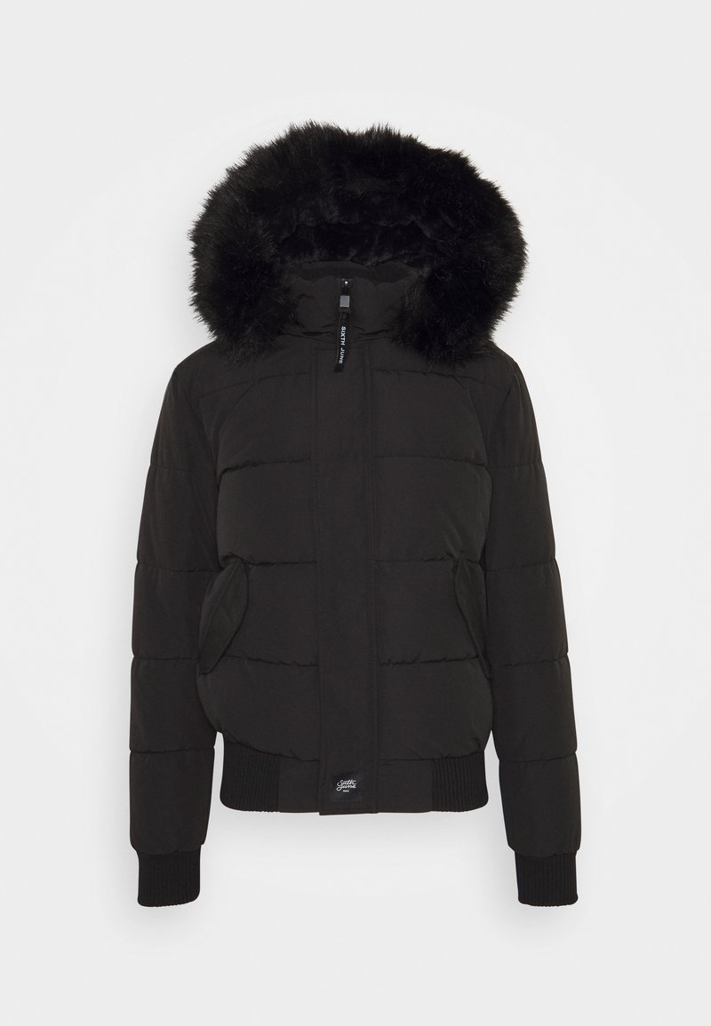 Sixth June - IRRIDESCENT - Winterjacke - black
