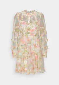 Needle & Thread - HARLEQUIN ROSE RUFFLE MINI DRESS - Koktejlové šaty/ šaty na párty - moonscape - 5
