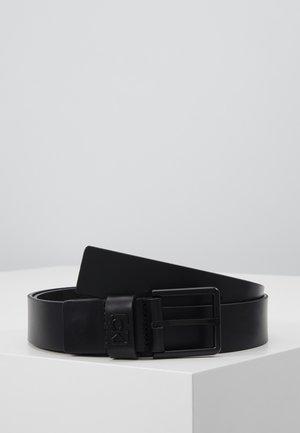 35MM SIGNATURE LOOP BELT - Pasek - black
