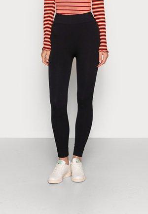KJERSTI PANTS - Leggings - Trousers - black